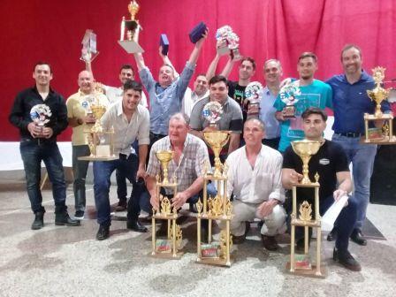 Tuvo lugar la Cena Coronación de la Fórmula 3CV en Espartillar.