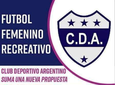Fútbol Femenino - Deportivo Argentino incorpora la disciplina.