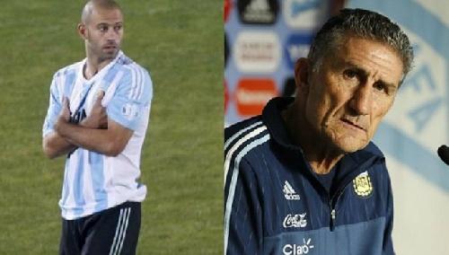 Mascherano desdice a Bauza y aclara que los jugadores de la Selección no pidieron jugar en la Bombonera.