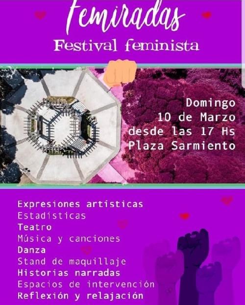 """Festival feminista """" Femiradas"""""""