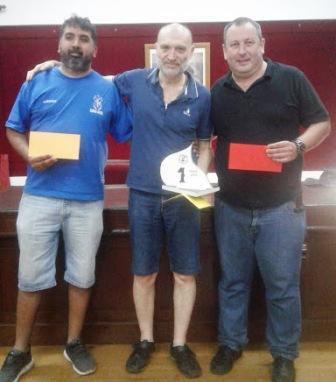 Ajedrez - El maestro Facundo Quiroga se quedó con el Torneo Aniversario.