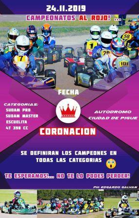 Karting del Sur - Ultima fecha y premiación en el Ciudad de Pigüé.