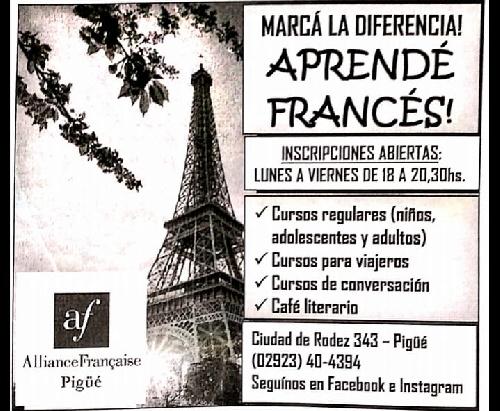 Alianza Francesa Pigüé