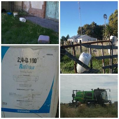 Vecinos Ambientalistas Autoconvocados de Pigüé denuncian contaminación con agroquimicos en Escuela rural de Alta Vista y falta de respuesta