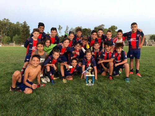 Los chicos del Club Peñarol se quedaron con el Mundialito jugado en nuestra ciudad