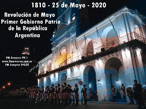210º Aniversario del Primer Gobierno Patrio de la República Argentina