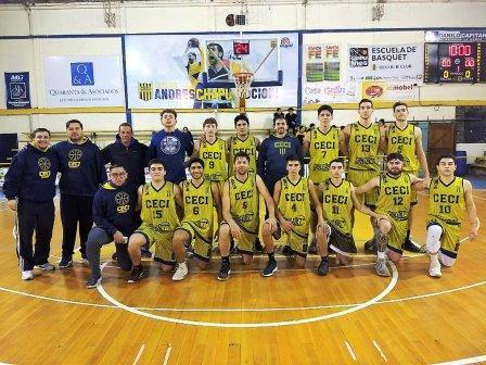 Basquet Santafecino - Victoria de Ceci BC ante Trebolense.