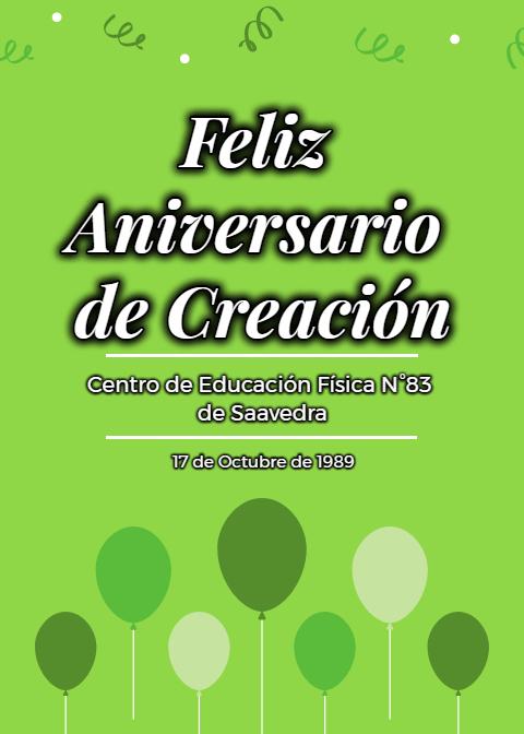30ª Aniversario del CEF 83 de Pigüé