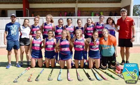 Hockey Femenino - El Cef 83 Sub 16 a un paso del comienzo del Provincial.