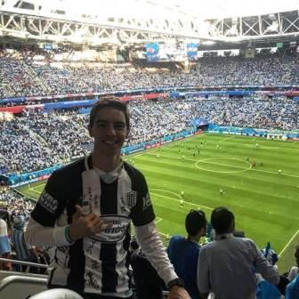 Fernando Churín en Estados Unidos sufrió una lesión de ligamentos.