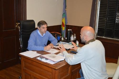 El intendente se reunió con el responsable municipal de medio ambiente