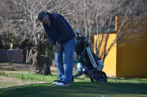 Golf - Roberto Pérez y Rubén Ruggeri los ganadores del mensual local.
