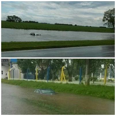 Inundaciones en Santa Fe: hay al menos diez ciudades sitiadas por el agua