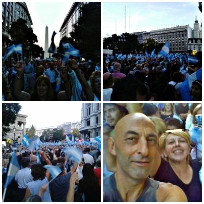#1A: Multitudianaria marcha en apoyo de la democracia y el gobierno autoconvocada por las redes sociales
