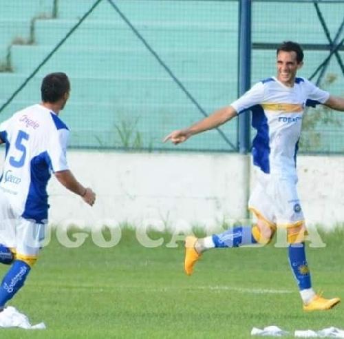 Con un gol de Marcos Litre, Antoniana derrotó al Chicoana en amistosos jugados hoy.