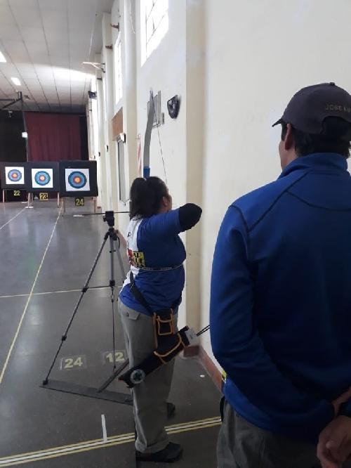 Arqueros de tiro Federal Pigüé compitieron en Trenque Lauquen