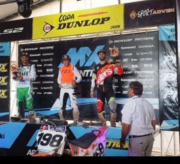 Motocross - Emiliano Zapata finalizó 3° en la última fecha del nacional.